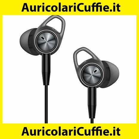 Bianco e Nero DAIXI Auricolari in-Ear,Auricolari con Microfono con Filo,cancellazione del Rumore,Compatibile con Lettori MP3,Nokia,HTC