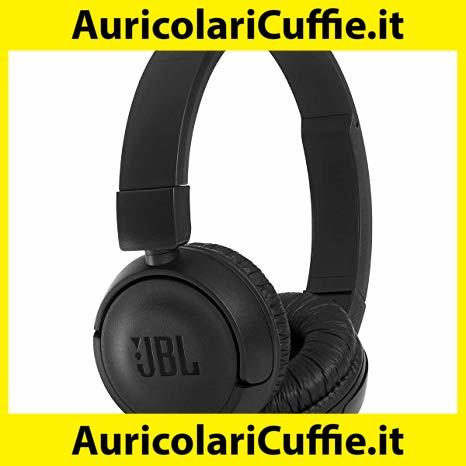 Ripiegabili JBL T450 BT Cuffie Sovraurali Wireless senza fili Nero
