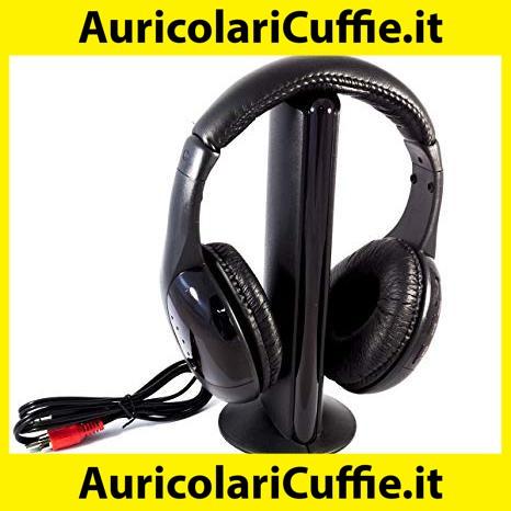7e33d8da6ccc9f Cuffie tv wireless con microfono: offerte sensazionali a buon prezzo